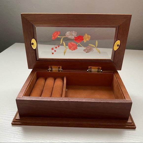 Vintage Jewelry Storage Box